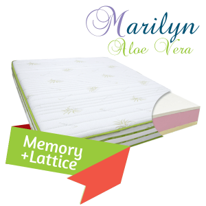 Materasso in lattice Marilyn scontato al 50%