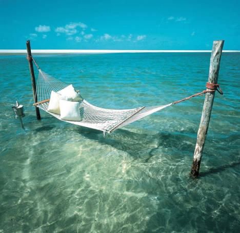 Il letto nel mare