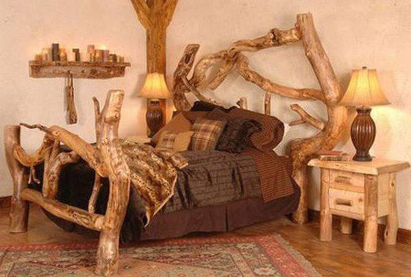 un-letto-in-legno