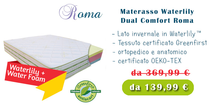 materassi-waterlily-in-offerta